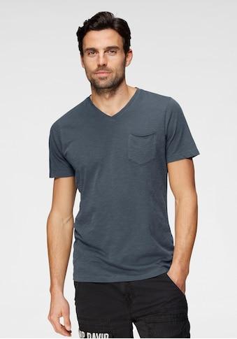 CAMP DAVID T-Shirt, mit Brusttasche kaufen