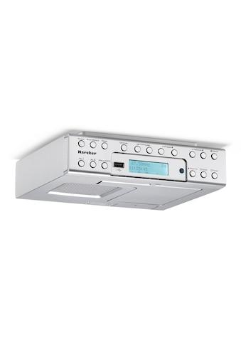 Karcher Küchen-Radio »RA 2030D«, (Digitalradio (DAB+) 2 W), (DAB+ / UKW, Dual-Alarm) kaufen