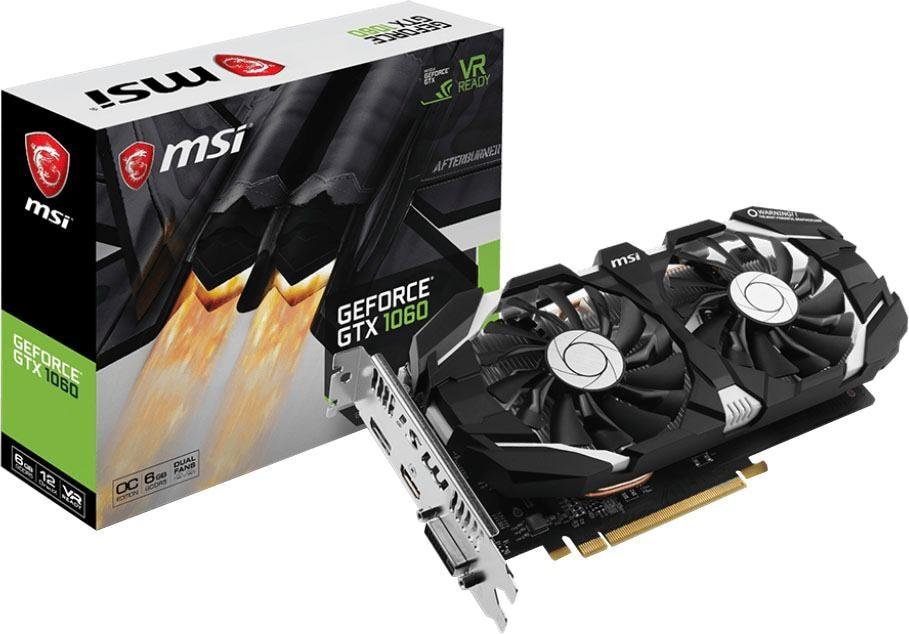 MSI »GTX 1060 OCV1« Grafikkarte (6 GB, GDDR5)