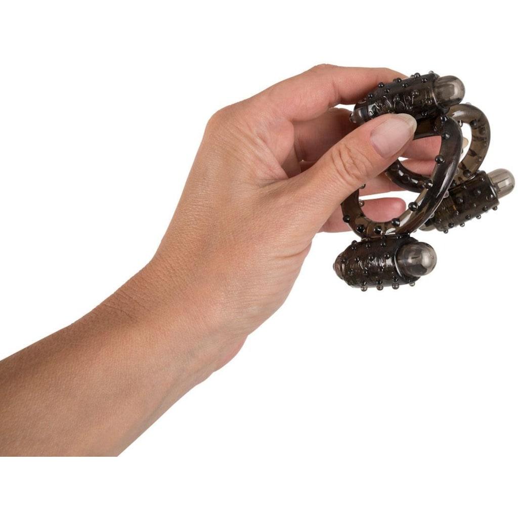 "Seven Creations Penis-Hoden-Ring ""Cock N Balls Vibro-Harness"""