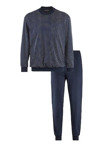 Schiesser Pyjama, mit Brusttasche kaufen