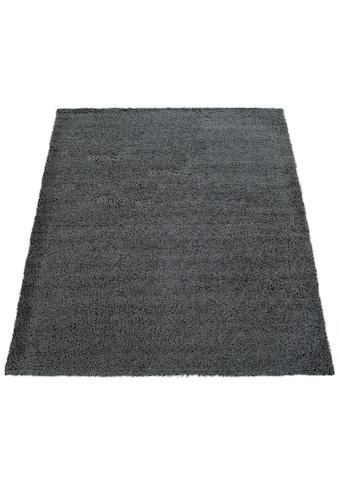 Hochflor - Teppich, »Nox 270«, Paco Home, rechteckig, Höhe 35 mm, maschinell gewebt kaufen