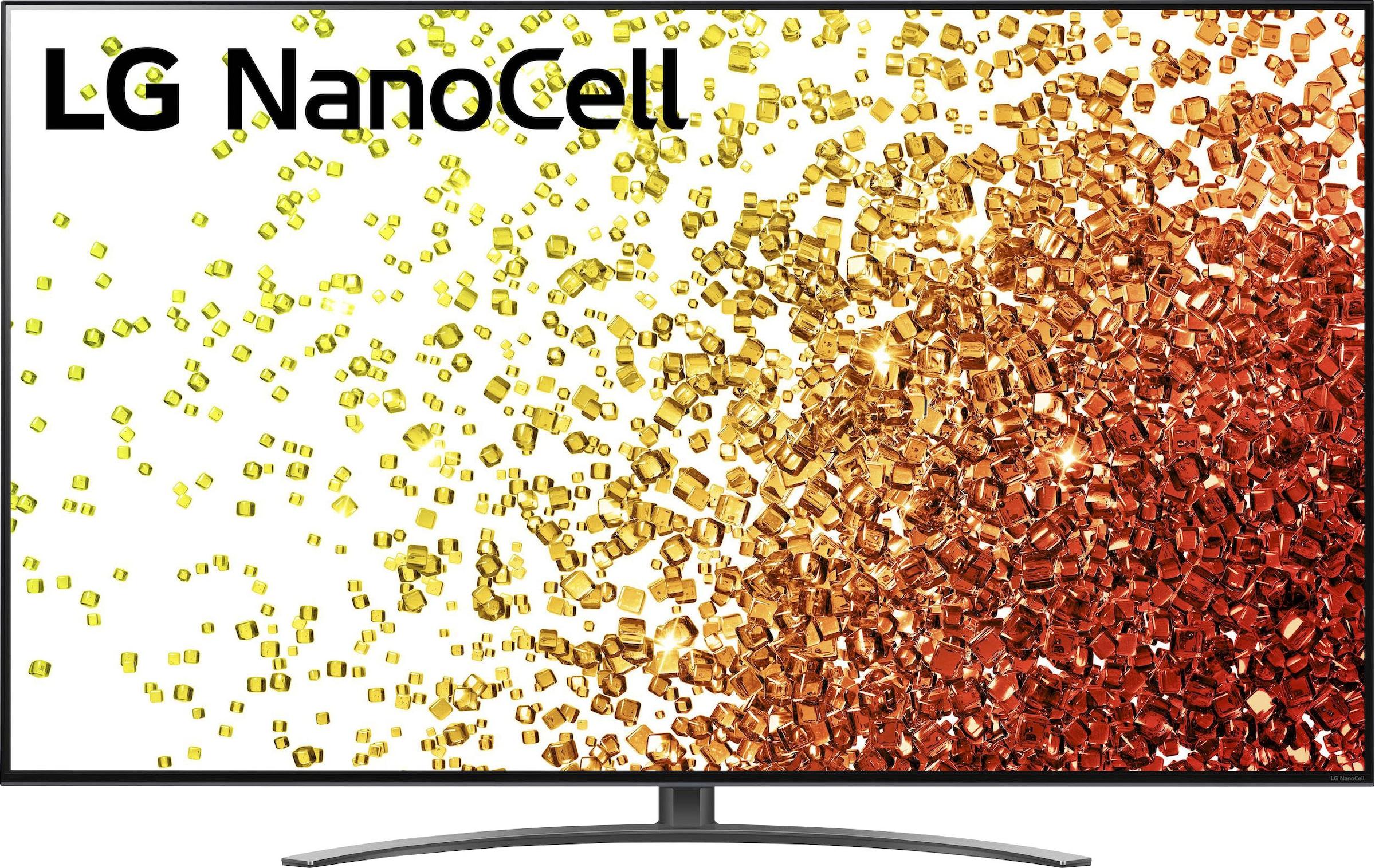 LG LCD-LED Fernseher 86NANO919PA , 217 cm 86 , 4K Ultra HD, Smart-TV, bis zu 120Hz -Full Array Dimming Pro-α7 Gen4 4K AI-Prozessor-Sprachassistenten-HDMI 2.1