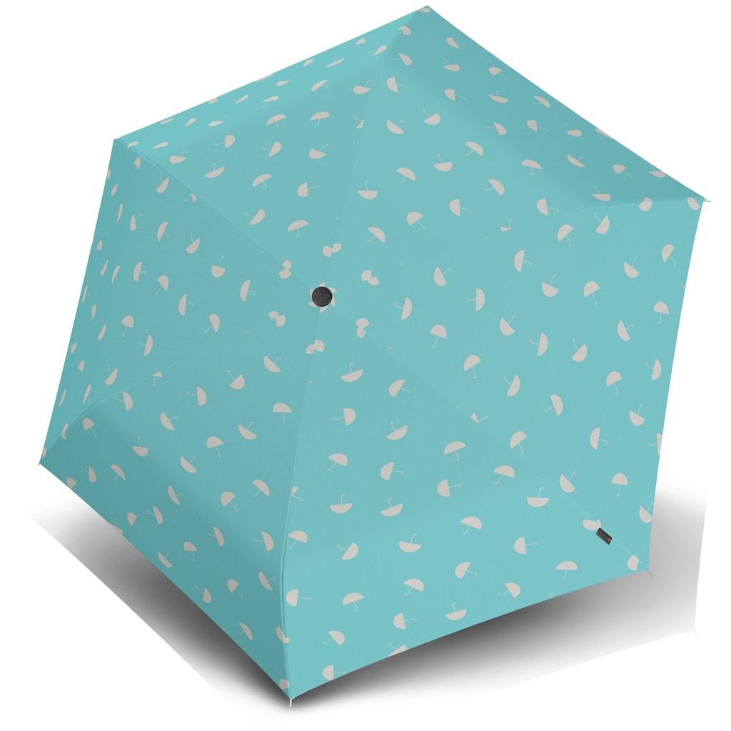 Knirps® Taschenregenschirm »US.050 Ultra Light Slim Manual, umbrella aqua«