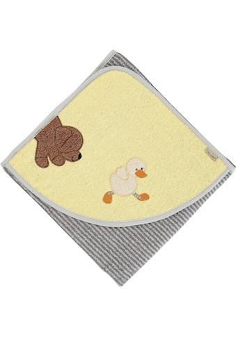 Sterntaler® Badetuch »Hanno und Edda«, (1 St.), mit Hund und Ente kaufen