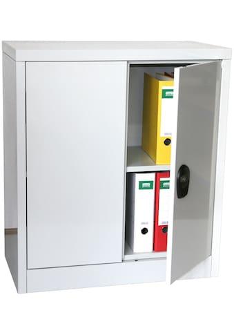 SZ METALL Mehrzweckschrank »RAL7035«, B/T/H: 80x40x90 cm, abschließbar inkl. 2 Schlüssel kaufen