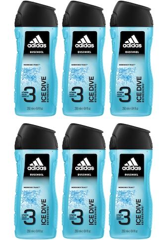 adidas Performance Duschgel »Ice Dive 3in1«, (Spar-Set, 6 tlg.), für Männer kaufen