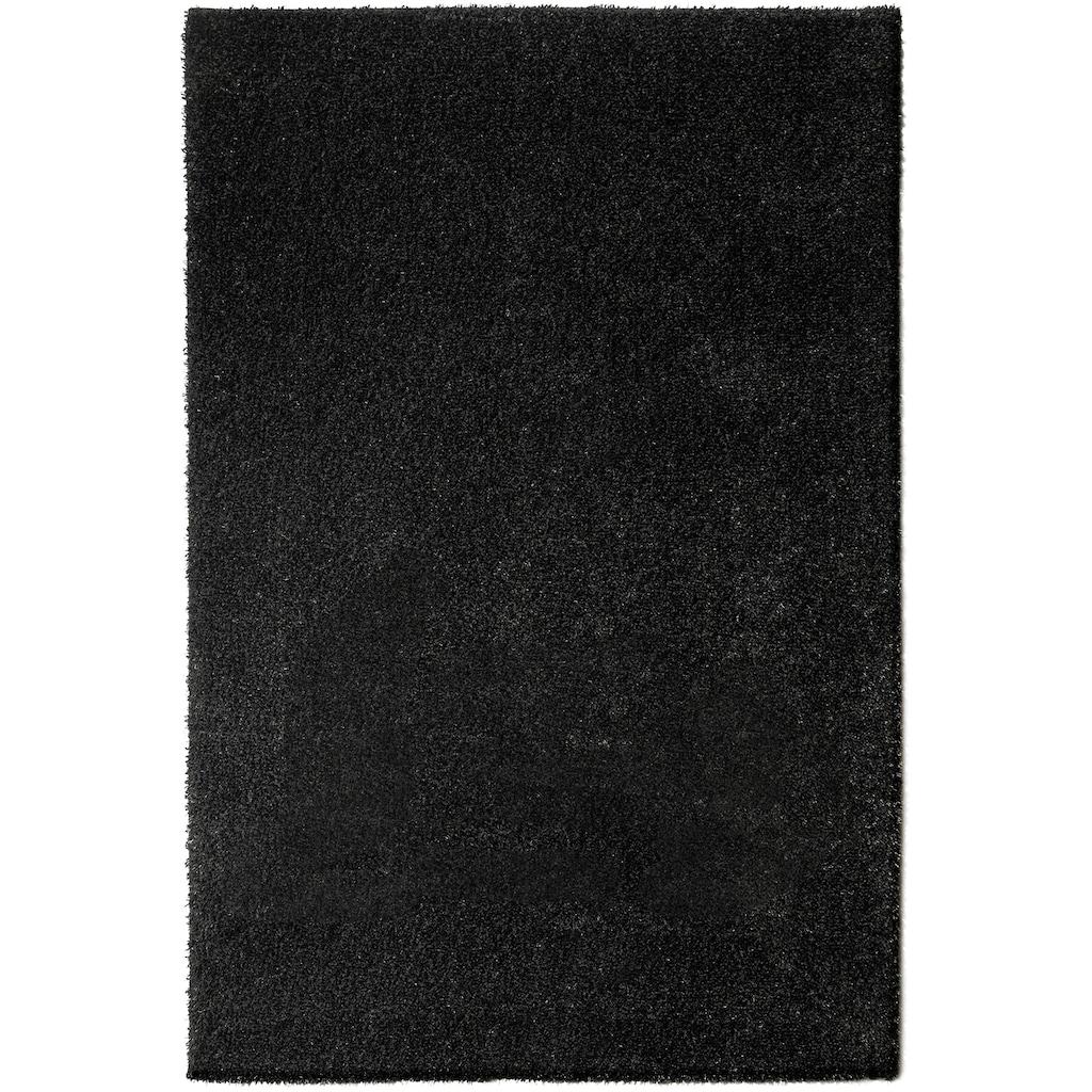 andas Hochflor-Teppich »Lonela«, rechteckig, 30 mm Höhe, besonders weich duch Microfaser, Wohnzimmer