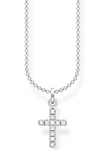 THOMAS SABO Kette mit Anhänger »Kreuz, KE2069 - 051 - 14 - L45v« kaufen