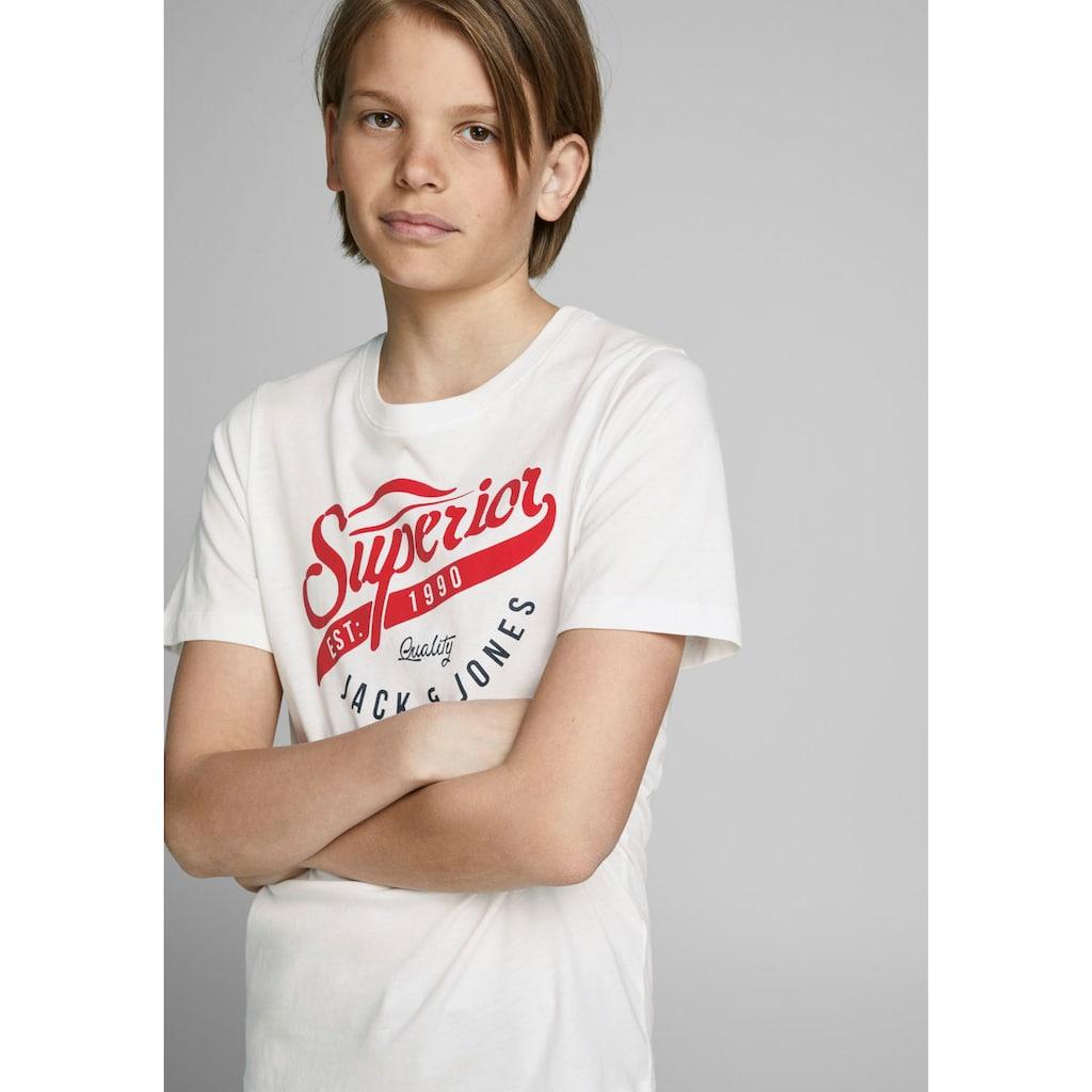 Jack & Jones Junior T-Shirt »DENIM GOODS«