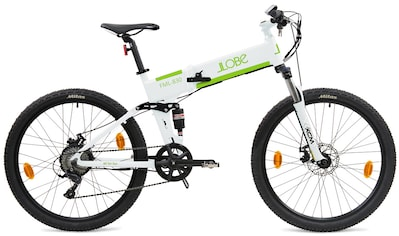 "LLobe E-Bike »FML-830 white 27,5"", 10,4 Ah«, 9 Gang, Shimano, Heckmotor 250 W kaufen"