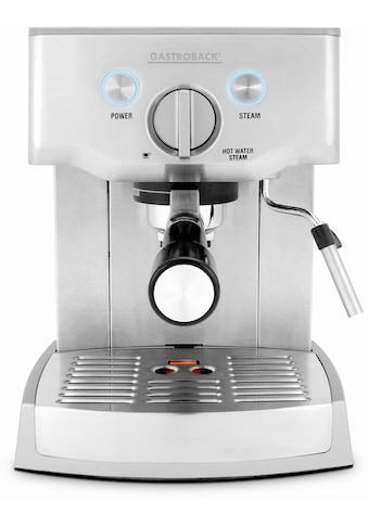 Gastroback Espressomaschine »Design Espresso Pro 42709« kaufen