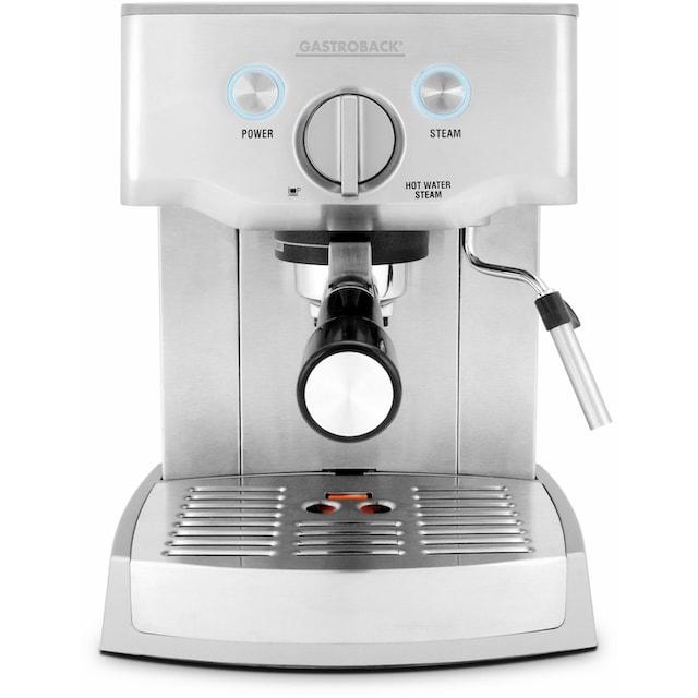 Gastroback Espressomaschine Design Espresso Pro 42709