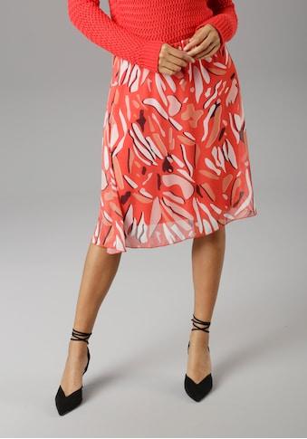 Aniston SELECTED Sommerrock, im modischen Druck kaufen