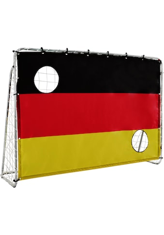 L.A. Sports Fußballtor »Soccer Goal 2in1 Set - Kinder Tor mit Netz und Torschusswand«,... kaufen