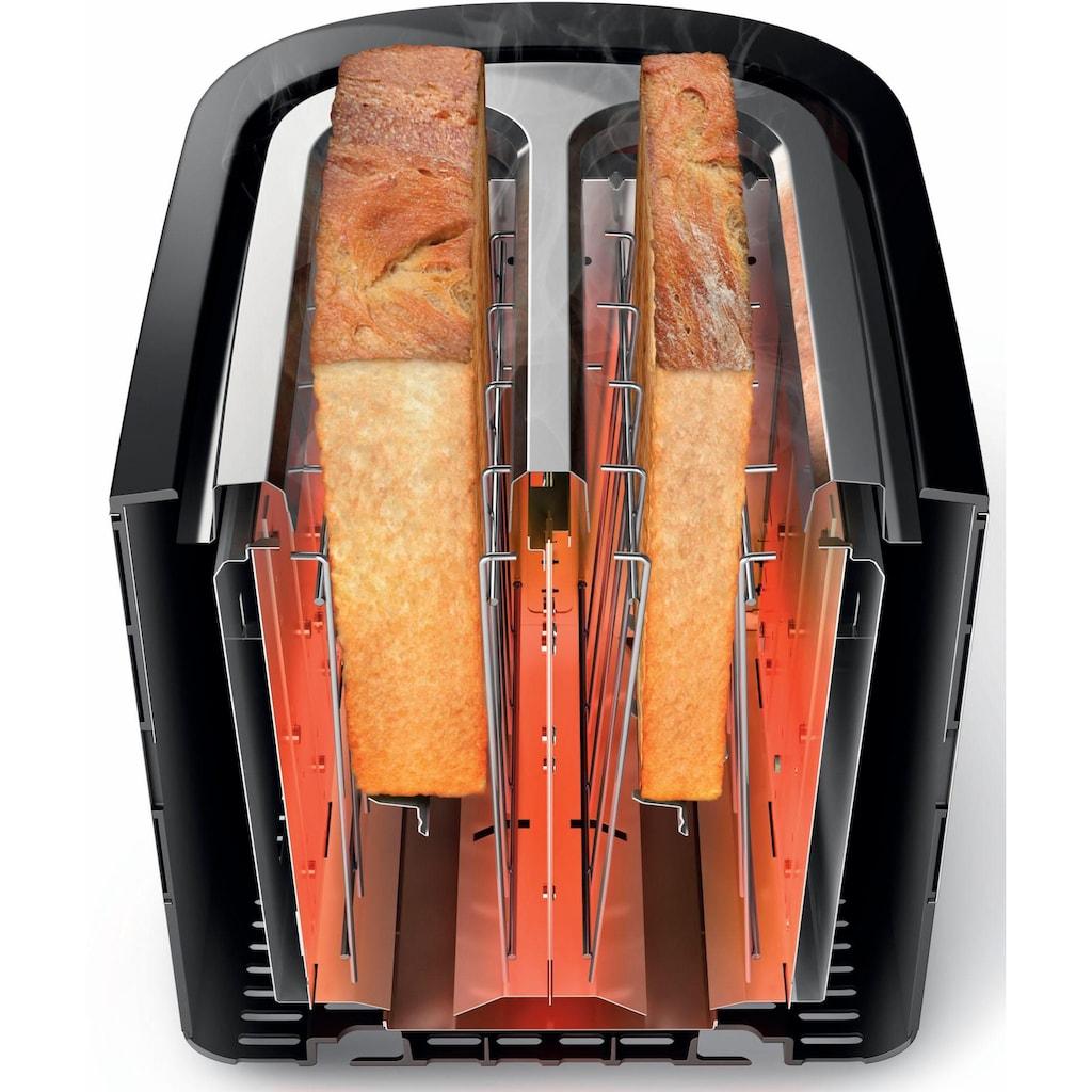 Philips Toaster »HD2637/90 Viva Collection«, 2 kurze Schlitze, für 2 Scheiben, 950 W
