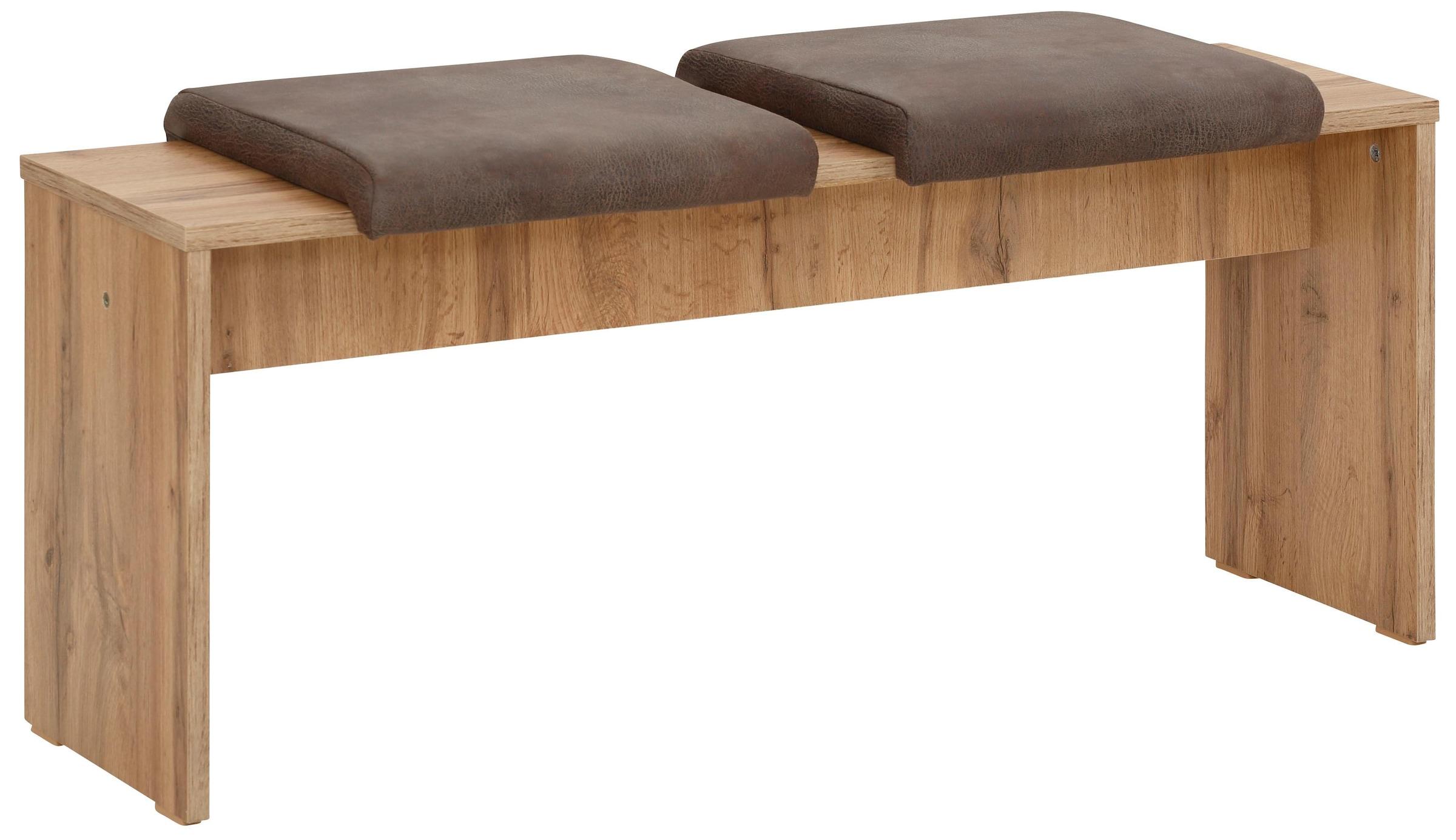 Sitzbank Sitzhocker Tulip Stoff Edelstahl gepolstert Größe /& Farbe wählbar