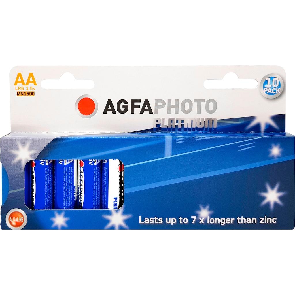 AgfaPhoto Batterie »Alkaline Power, 10er Set 1183951«, 1,2 V