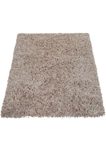 Hochflor - Teppich, »Fluffy 420«, Paco Home, rechteckig, Höhe 75 mm, maschinell gewebt kaufen