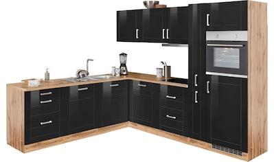 HELD MÖBEL Winkelküche »Tinnum«, mit E-Geräten, Stellbreite 240/270 cm kaufen