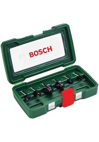 BOSCH Fräsbohrer, (Set, 6 tlg.) kaufen