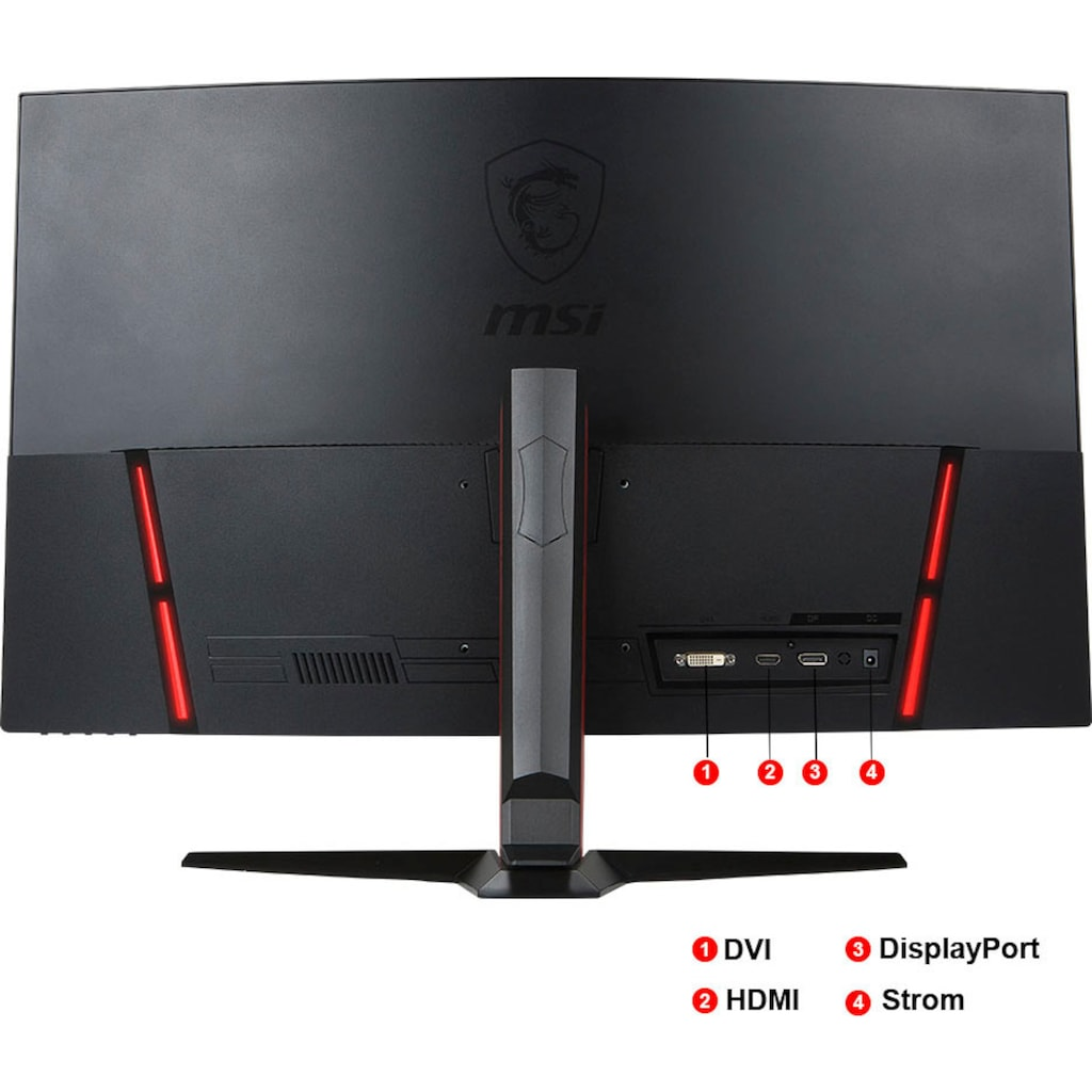 "MSI Gaming-Monitor »Optix AG32CQ-8015«, 80 cm/31,5 "", 2560 x 1440 px, WQHD, 1 ms Reaktionszeit, 144 Hz"