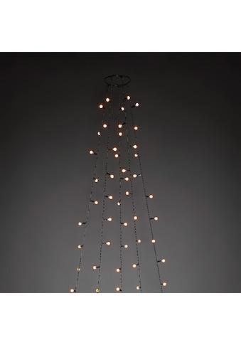 KONSTSMIDE LED-Lichtervorhang, 150 St.-flammig, LED Baummantel mit Ring Ø 11, mit... kaufen