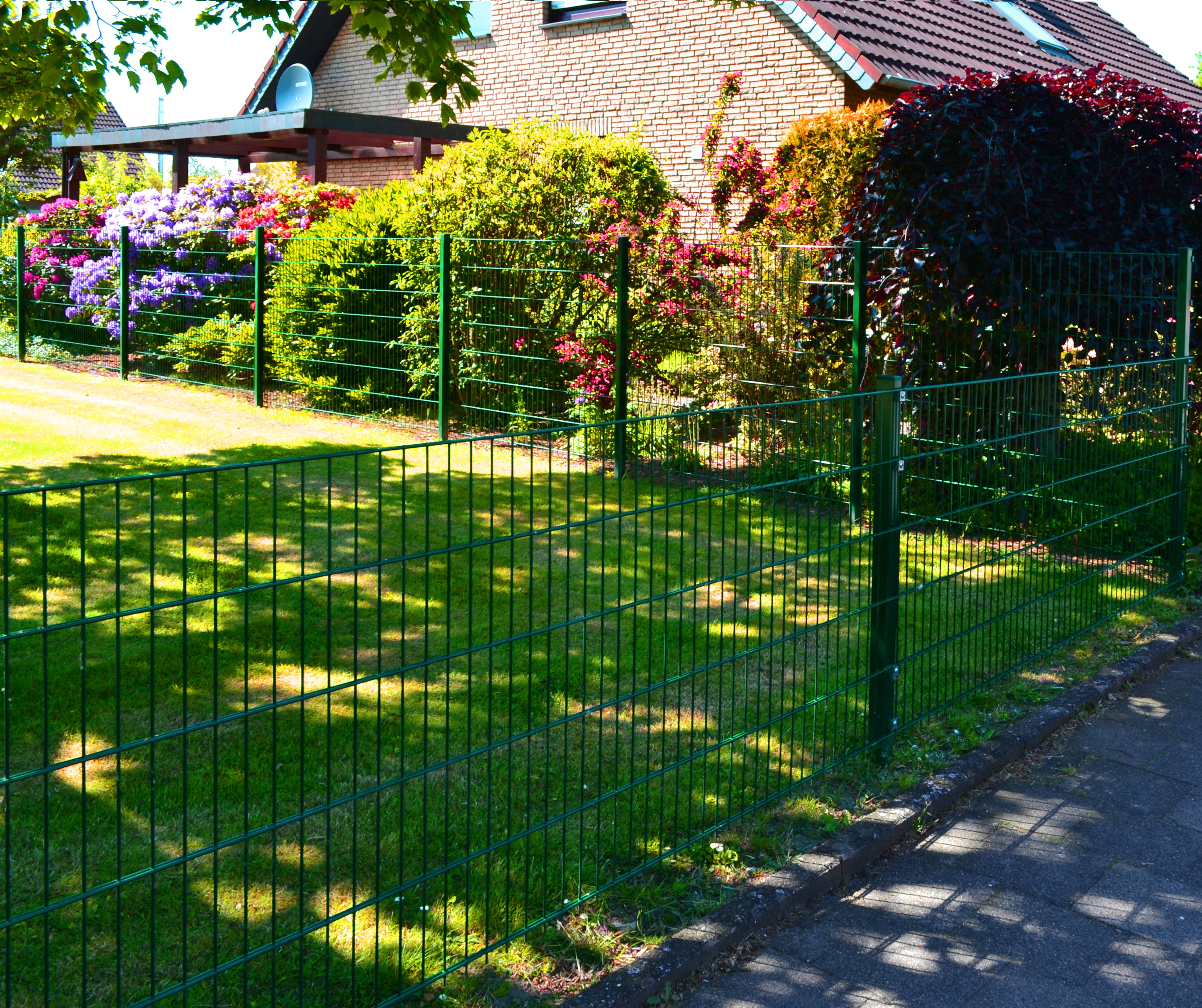 Garten Pulverbeschichtet Zaune Und Sichtschutz Online Kaufen