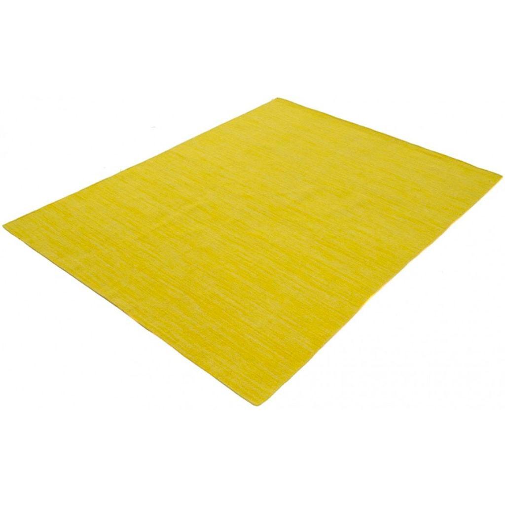 carpetfine Wollteppich »Kelim Loom«, rechteckig, 5 mm Höhe, Wolle/Baumwolle Wendeteppich, Kelim Dorri, Wohnzimmer
