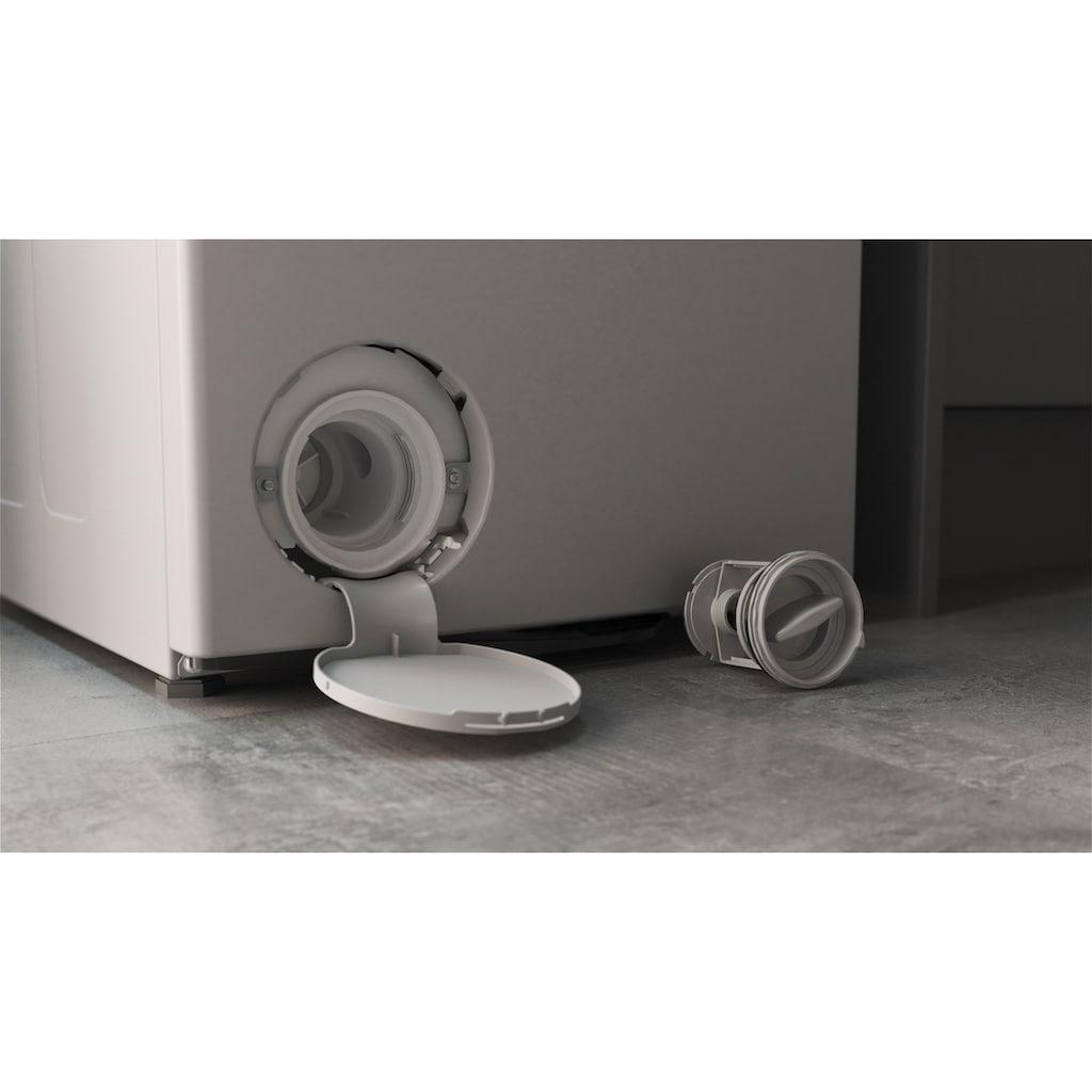 BAUKNECHT Waschmaschine Toplader »WMT Silver 7 BD N«, WMT Silver 7 BD N, 7 kg, 1200 U/min