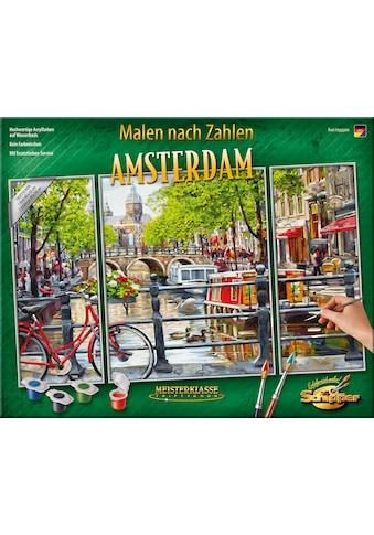 Schipper Malen nach Zahlen »Meisterklasse Triptychon - Amsterdam«, Made in Germany kaufen