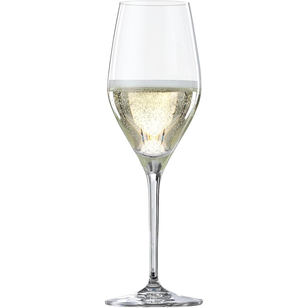 SPIEGELAU Champagnerglas »Summertime«, (Set, 4 tlg.), 270 ml, 4-teilig
