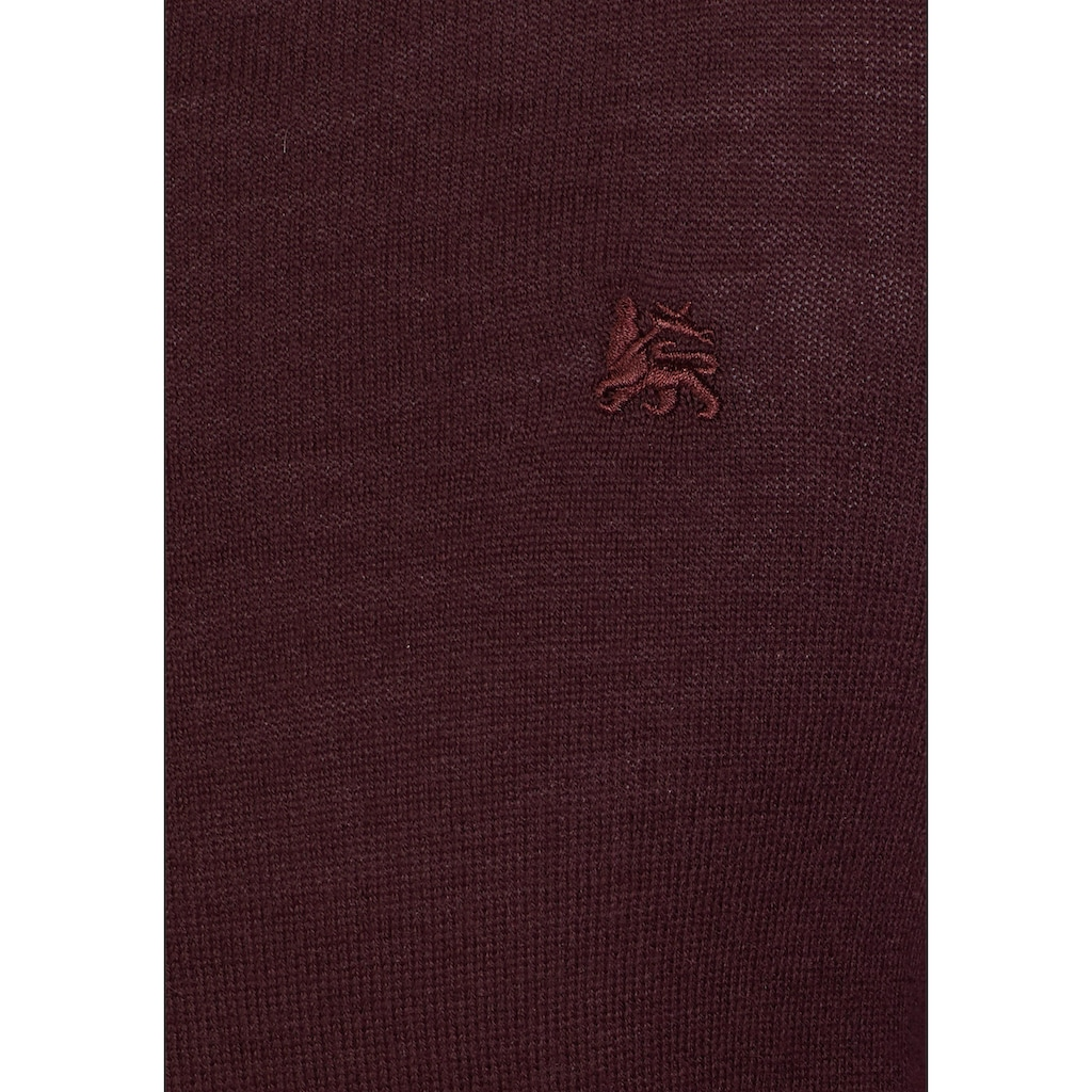 LERROS V-Ausschnitt-Pullover
