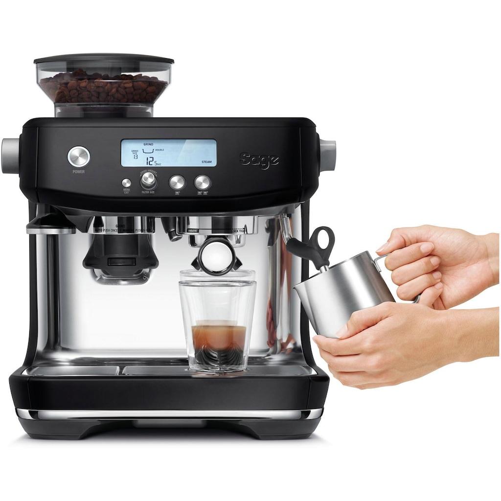 Sage Espressomaschine »»The Barista Pro, SES878BTR4EEU1««, Mattschwarz