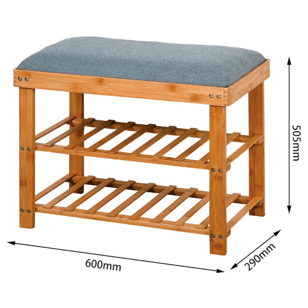 welltime Sitzbank »Atlantic«, mit 2 Ablagen, Breite 60cm