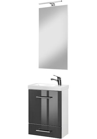 welltime Waschtisch-Set »Trento«, (Set, 4 St.), Breite 40cm, Gästebad SlimLine kaufen