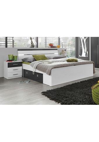 Bett, inkl. 2 Nachttische und 2 Schubkästen kaufen