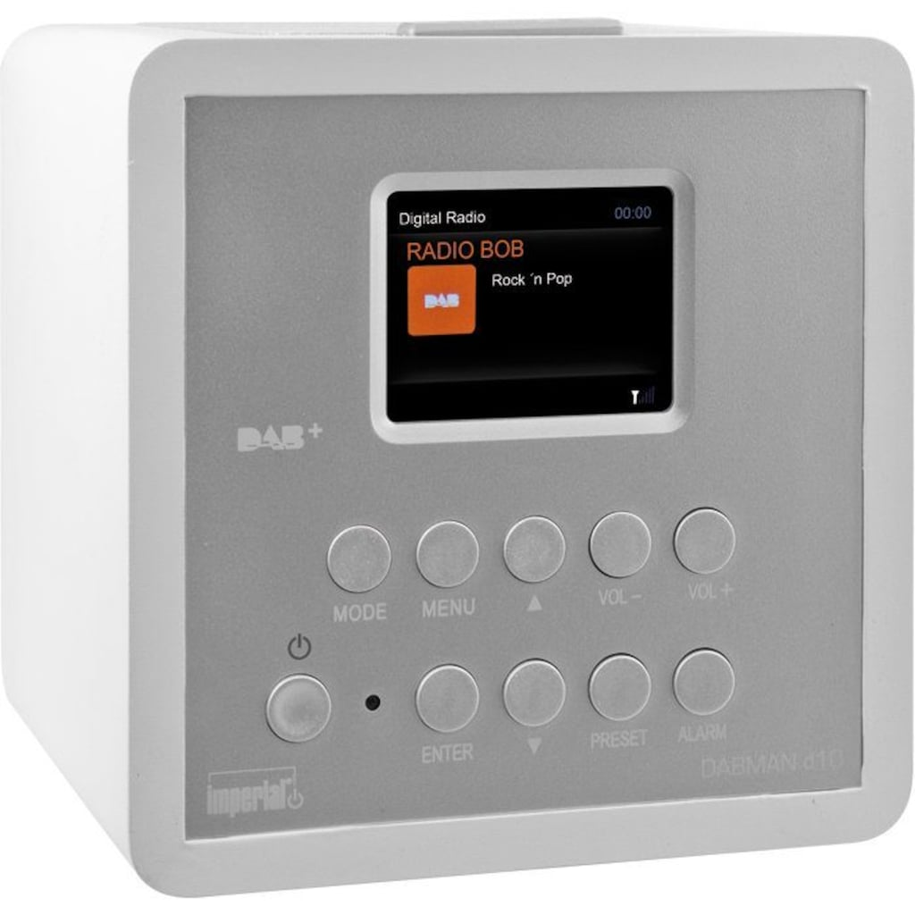 IMPERIAL Radiowecker »DABMAN d10«, mit Snooze-Funktion
