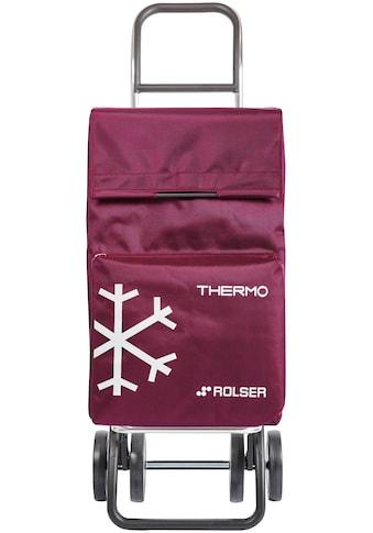 Rolser Einkaufstrolley »4 Thermo Fresh«, (1 tlg.), Maße: 39x31x105 cm, mit Thermofach kaufen