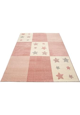 Kinderteppich, »Tilly«, Lüttenhütt, rechteckig, Höhe 14 mm, maschinell gewebt kaufen