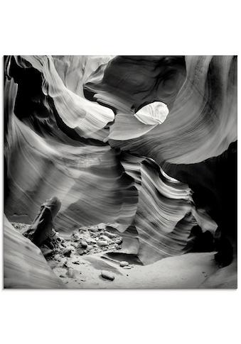 Artland Glasbild »Antelope Canyon VII«, Amerika, (1 St.) kaufen