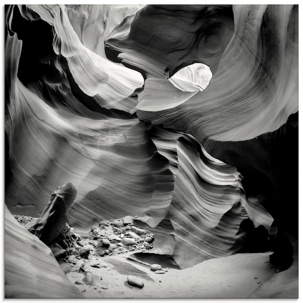 Artland Glasbild »Antelope Canyon VII«, Amerika, (1 St.)