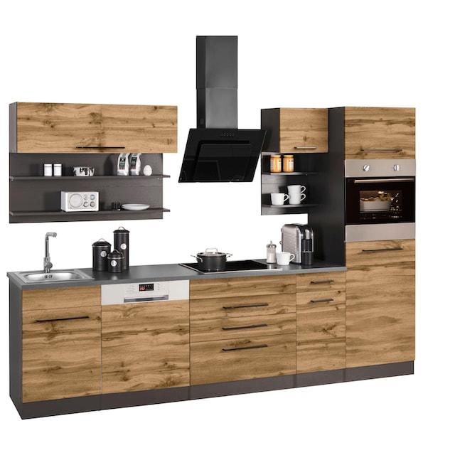 HELD MÖBEL Küchenzeile »Tulsa«, ohne E-Geräte, Breite 290 c