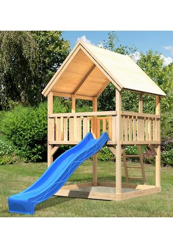 ABUKI Spielturm »Lenie 2«, BxT: 200x200 cm, mit Rutsche kaufen