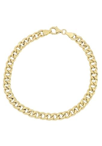 Firetti Goldarmband »Glanz, Diamantiert, Panzerarmband, 5,7 mm breit« kaufen