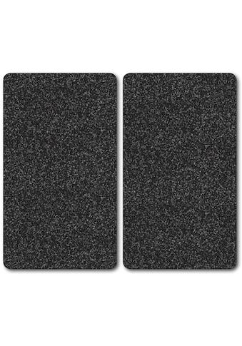 """Bischof Herdblende - /Abdeckplatte """"Granit"""", ESG - Sicherheitsglas, (Set, 2 - tlg.) kaufen"""