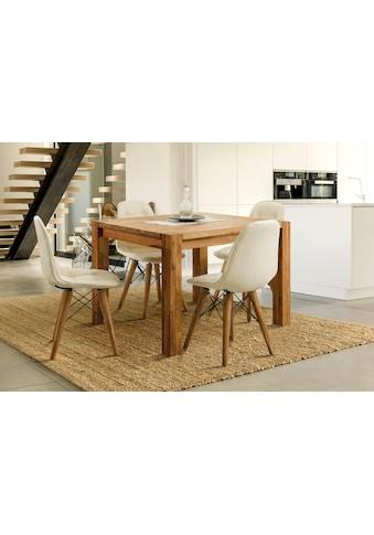 Home affaire Essgruppe »Tim«, (Set, 5 St.), bestehend aus 4 Stühlen und einem... kaufen