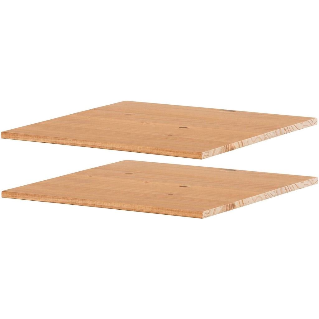 Home affaire Einlegeboden »Selma«, aus schönen massivem Kiefernholz, Breite 46,5 cm