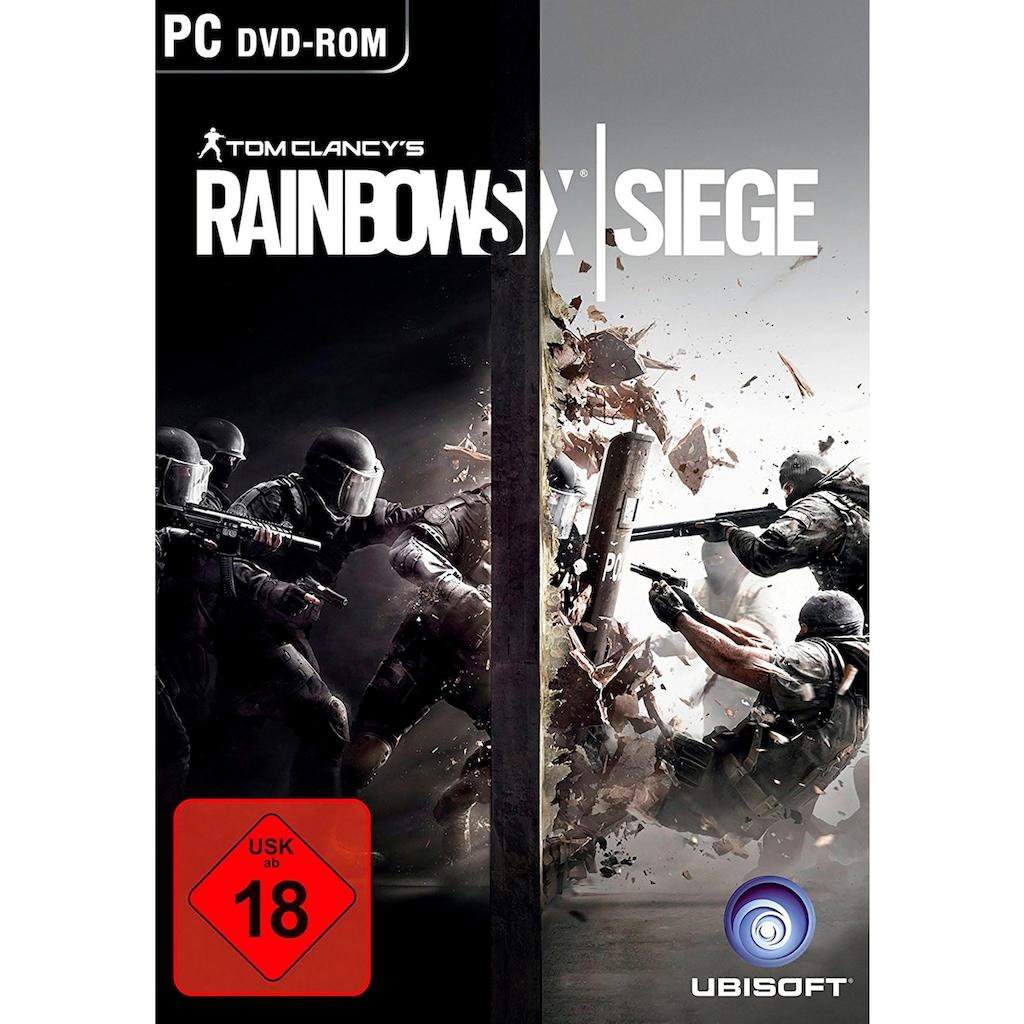 UBISOFT Spiel »Tom Clancys Rainbow Six Siege«, PC, Software Pyramide