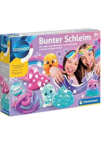 Clementoni® Experimentierkasten »Galileo Bunter Schleim«, Made in Europe kaufen